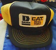 CAT Diesel Power trucker hat USA vintage hat DARR Caterpillar snapback cap NICE
