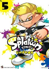 JAPAN NEW Splatoon 5 Sankichi Hinodeya manga book