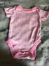 Baby one piece pink 3-6 months