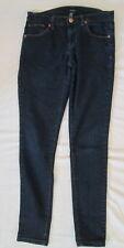 Forever 21 Dark Stretch Denim Skinny jeans 25 inseam: 28 *FREE SHIPPING* Nice