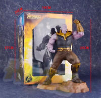 Marvel Avengers Infinity War Thanos Artfx+Statue 25cm PVC  Figure Toy Hot