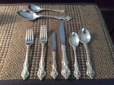 Towel Sterling Silver Flatware Pattern El Grande Service for 12