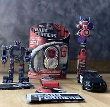 Transformers Movie Lot Barricade Optimus Communicator MISB Booster X10 And More