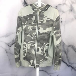 AG Analog by Burton Camo Hoodie First Layer RARE Uninc Yes 686 Volcom Snowboard