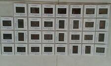 34 diapositives - service philatélique - timbre poste et pédagogie - 1998