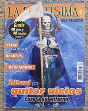 LA SANTA MUERTE REVISTA, BRUJERIA, NARCOTRAFICO, MAGIA, HECHIZO, COMO TV NOVELAS