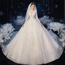 Luxus  Brautkleid Hochzeitskleid Kleid Braut  Babycat collection Langarm BC927