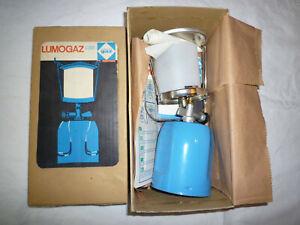 1 x Gas - Campinglampe, sehr guter Zustand, neuwertig mit Beschreib.,Ersatzkt.