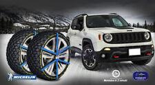 Catene da Neve Jeep Renegade Universali Omologate per ruote 215 60 17 set cerchi