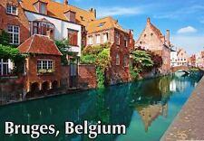 BRUGGE BRUGES BELGIUM TRAVEL SOUVENIR FRIDGE MAGNET 1 #fm45