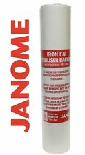 Janome Iron On Embroidery Stabiliser Backing Tear Away - 10m x 35cm ROLL