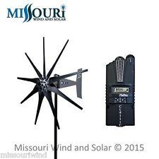 Freedom II 12/24Volt 2000 watt max 9 blade turbine MidNite Solar Classic 150 KIT