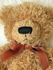 Russ Teddy Bear Brawson Light Brown Plush Soft Stuffed 10 in.