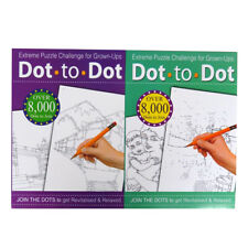 Extreme A4 Dot to Dot-Livres 1 et 2, chaque 32 pages, individuel Designs