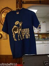 Hump Day Camel Guess What day it is Hump Daaay T shirt small