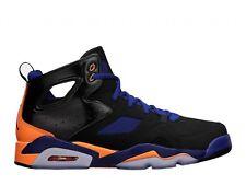 Nike Air Jordan Flight Club '91 Black Citrus Deep Royal 555475 046 Sz 8 Retro 6