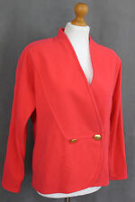 ESCADA Ladies ANGORA WOOL BLEND TAILORED JACKET / BLAZER - Size DE 36 - UK 10