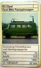 Cuarteto tarjeta individuales-Opel-Opel Blitz camión de la televisión-art.nr.448