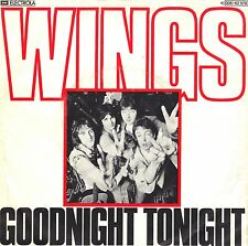 "7"" Paul McCartney (Beatles) – Goodnight Tonight // Germany 1979"