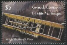 1903 WRIGHT Brothers FLYER I Aircraft Mint Stamp (2003 Grenada)
