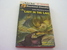 THE LADY IN THE LAKE  1946  RAYMOND CHANDLER   MULTIPLE MURDERS --  NARCOTICS