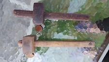 Antique 2 Wooden Marking Gauge Tool