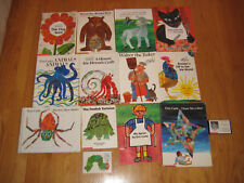 Lot of 13 ERIC CARLE books PB HC *RARE* Draw Me A Star Walter The Baker TinySeed