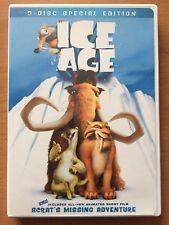 Ice Age (DVD, 2002, 2-Disc Set) Original Classic Kids