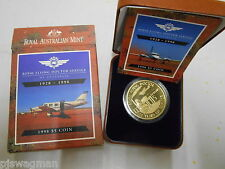 1928-1998  Royal Flying Doctor Service $5 Coin Proof - In Box & Case of Issue