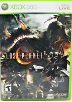 Lost Planet 2 (Microsoft Xbox 360, 2010) Complete with Manual.