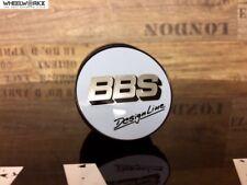 4xOriginal BBS Emblem Felgendeckel Nabendeckel weiß/silber56mm DesignLine0924370