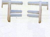 Window Blind / Fly net End Caps 2 packs of 2  Caravan / Motorhome