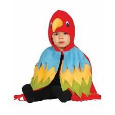 Toddler Baby Parrot Bird Hawaiian Pirate Boys Girls Cape Fancy Dress Costume