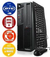 Lenovo Desktop Computer ThinkCentre M90 3.2GHz Intel Core i5 8GB 500GB Win10 Pro