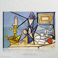 Picasso Natura morta QUADRO MODERNO PABLO QUADRI STAMPA TELA RIPRODUZIONE ARTE