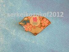 2012 London Olympic Games, Japanese media pin, JAPAN CONSORTIUM PIN