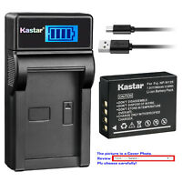 Kastar Battery LCD USB Charger for Fujifilm NP-W126S BC-W126 & Fujifilm X100F