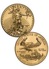RANDOM DATE 1 Troy Oz Gold American Eagle $50 Gem BU Coin SKU26177