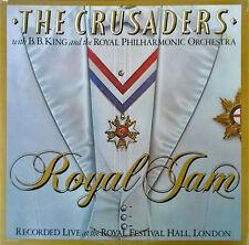 CRUSADERS WITH B.B. KING & ROYAL PHILHARMONIC ORCH. - ROYAL JAM - (2) LP SET