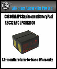 CSB OEM APC Replacement Battery Pack RBC32 UPS 1000