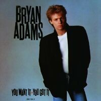 BRYAN ADAMS - YOU WANT IT,YOU GOT IT  CD NEW!