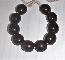 4 Ausgefallene Afrikanische Ashanti Bronze Würfel-perlen Gitterdesign-ca.10x13mm Schmuck