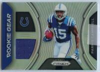 Parris Campbell Rookie Gear #RG-PC Card 2019 Panini Prizm Football Indianapolis