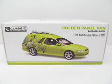 HOLDEN CUSTOM PANEL VAN - BARBADOS GREEN - 1:18 Scale by Classic Carlectables