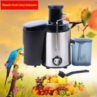 Electric Fruit Juice Extractor Vegetable Blender Squeezer Juicer Maker Machine photo
