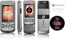 Sony Ericsson W760i Silver Walkman (Ohne Simlock) 3G 3,2MP RADIO GPS SHAKE TOP