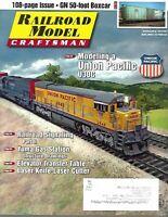 Railroad Model Craftsman Magazine January 2016 Railroad Signaling, UP U30C