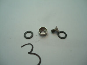 Pioneer RT-909 Reel to Reel Tape Player Pinch Roller Screw, bushing & 2 washers