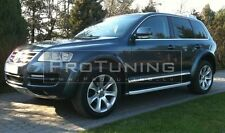 VW Touareg 02-06 arches ABT style trim extension spoiler flares BodyKit wide r50