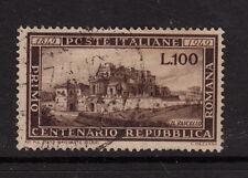 ITALY : 1949 Centenary of the Roman Republic SG 726  used